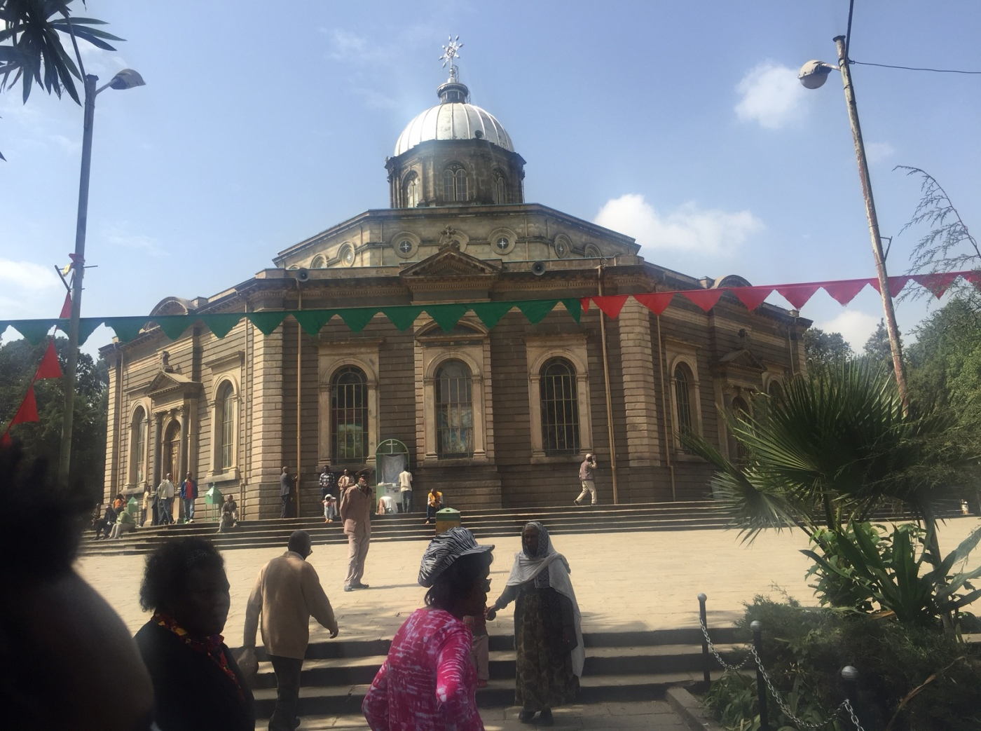 St. George's Cathedral in Addis Ababa, Ethiopia