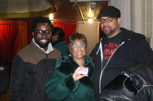 (L-R) Ben Collins, Ms. Frances, and Big Baba Rob